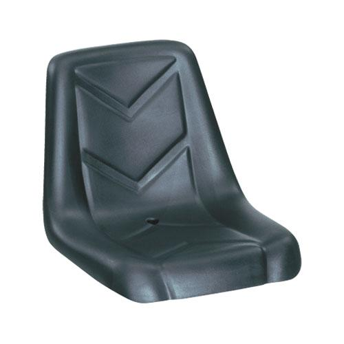 Compact Tractor Seat with Flip-Type Brackets