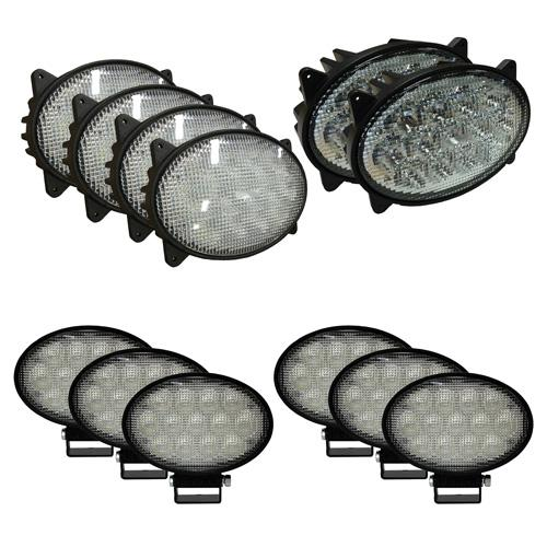 Complete LED Light Kit for Case/IH Combines, CaseKit3