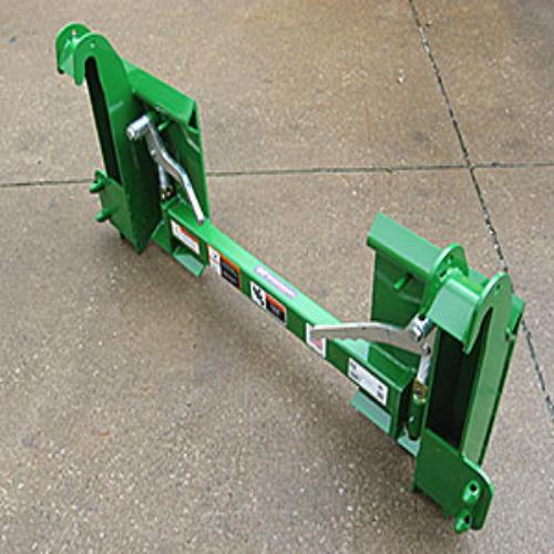 John Deere 300/400/500 Series to Skid Steer Quick Attach