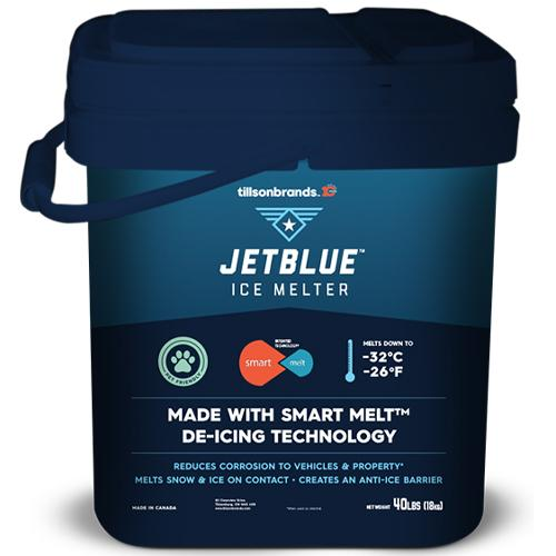 18 KG PAIL JET BLUE ICE MELT