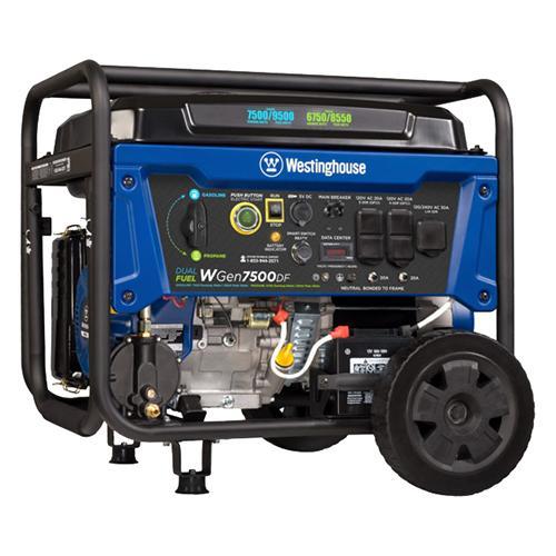 Generator - WGen 7500 Dual Fue