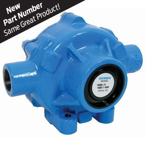 NRS 7560CR Hypro Series 8-Roller Pump