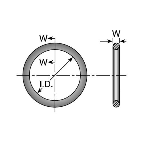 O-RING -16 61&62 FLANGE(SCP17)