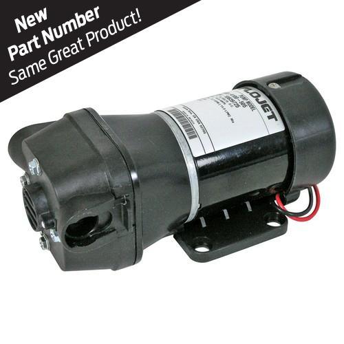 FLOJET 04100505A 3.5GPM 45PSI 12V Quad Diaphragm Pump