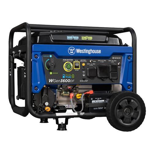 Generator - WGen 3600 Dual Fue