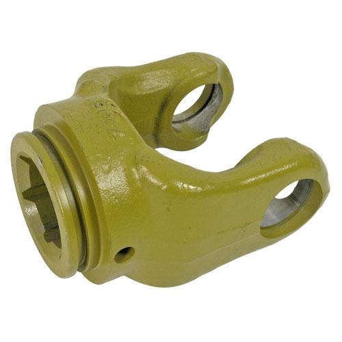 AW36 series yoke with 51 mm star bore and roll pin connection