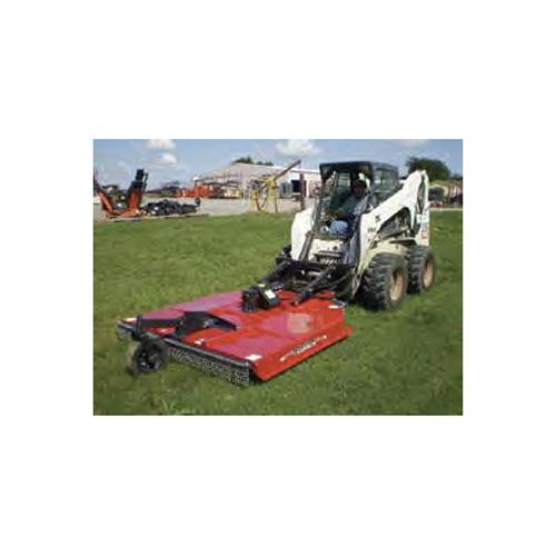 5' RED SKID STEER ROTARY CUTTE